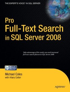 Pro Full-Text Search in SQL Server 2008-cover