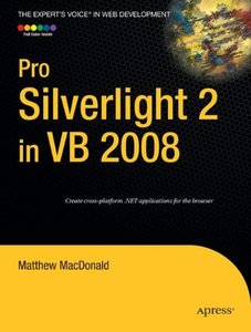 Pro Silverlight 2 in VB 2008 (Paperback)-cover