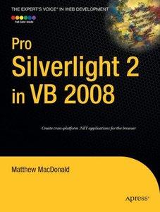 Pro Silverlight 2 in VB 2008 (Paperback)-cover