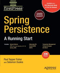 Spring Persistence — A Running Start (Firstpress) (Paperback)-cover