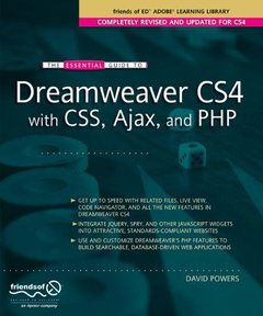 The Essential Guide to Dreamweaver CS4 with CSS, Ajax, and PHP (Paperback)-cover