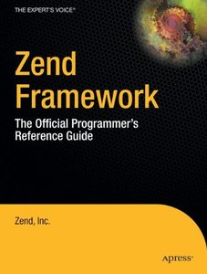 Zend Framework: The Official Programmer's Reference Guide-cover