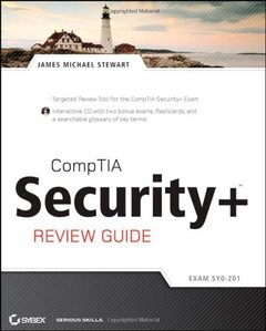 CompTIA Security+ Review Guide (Paperback)-cover