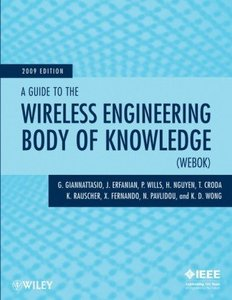 A Guide to the Wireless Engineering Body of Knowledge (WEBOK) (Paperback)-cover