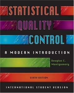 Statistical Quality Control : A Modern Introduction , 6/e (IE-Paperback)-cover