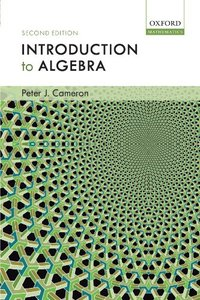 Introduction to Algebra, 2/e-cover