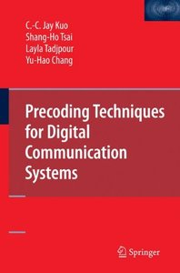 Precoding Techniques for Digital Communication Systems (Hardcover)