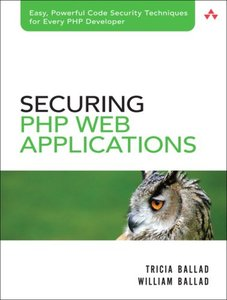 Securing PHP Web Applications (Paperback)-cover
