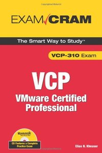 VMware Certified Professional (VCP Exam Cram) (Paperback)-cover