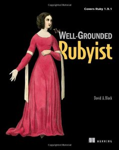 The Well-Grounded Rubyist (Paperback)-cover