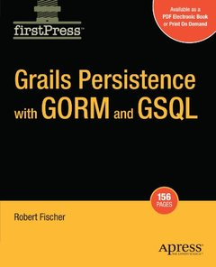 Grails Persistence with GORM and GSQL (Paperback)-cover