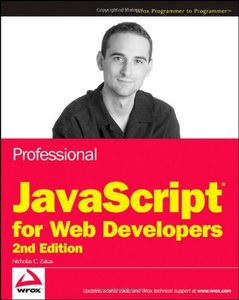 Professional JavaScript for Web Developers, 2/e (Paperback)-cover
