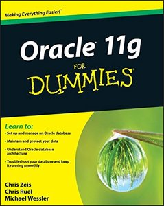 Oracle 11g For Dummies (Paperback)-cover
