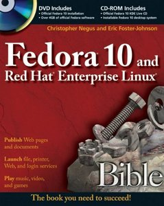 Fedora 10 and Red Hat Enterprise Linux Bible (Paperback)-cover