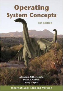 Operating System Concepts, 8/e (IE-Paperback)-cover