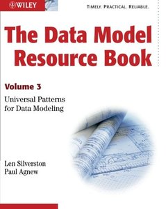 The Data Model Resource Book, Vol. 3: Universal Patterns for Data Modeling (Paperback)-cover