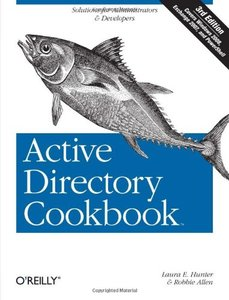 Active Directory Cookbook, 3/e (Paperback)-cover