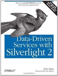 Data-Driven Services with Silverlight 2 (Paperback)-cover