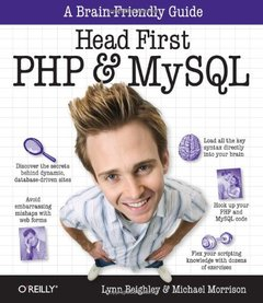 Head First PHP & MySQL (Paperback)-cover