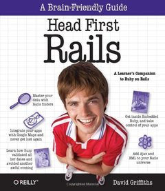 Head First Rails: A learner's companion to Ruby on Rails (Paperback)-cover