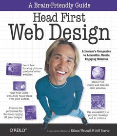 Head First Web Design (Paperback)-cover