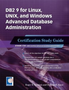 DB2 9 for Linux, UNIX, and Windows Advanced Database Administration Certification: Certification Study Guide (Paperback)-cover