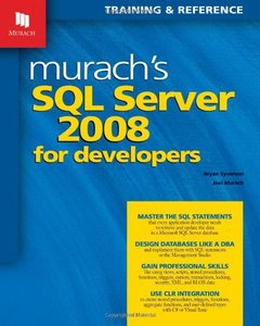 Murach's SQL Server 2008 for Developers (Paperback)-cover