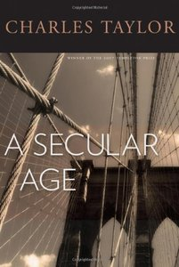 A Secular Age (Hardcover)-cover