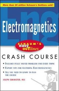 Schaum's Easy Outline of Electromagnetics (Paperback)-cover