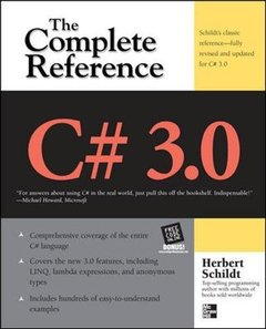 C# 3.0 The Complete Reference, 3/e (Paperback)-cover