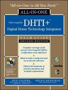 CEA-DHTI+ Digital Home Technology Integrator All-In-One Exam Guide, 2/e-cover