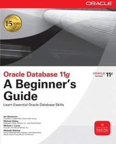 Oracle Database 11g: A Beginner's Guide (Paperback)-cover