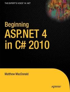 Beginning ASP.NET 4 in C# 2010 (Paperback)-cover