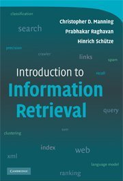 Introduction to Information Retrieval (IE-Paperback)-cover