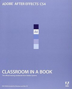 Adobe After Effects CS4 Classroom in a Book (Paperback)-cover