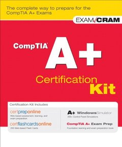 CompTIA A+ Certification Kit (Paperback)-cover