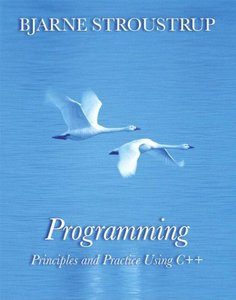 Programming: Principles and Practice Using C++ (Paperback)-cover
