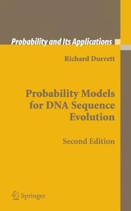 Probability Models for DNA Sequence Evolution1, 2/e (Hardcover)