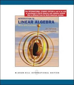 Introduction to Linear Algebra with Applications (IE-Paperback)-cover
