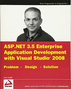 ASP.NET 3.5 Enterprise Application Development with Visual Studio 2008: Problem Design Solution-cover