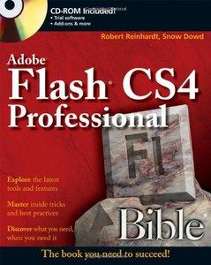 Flash CS4 Professional Bible (Paperback)-cover