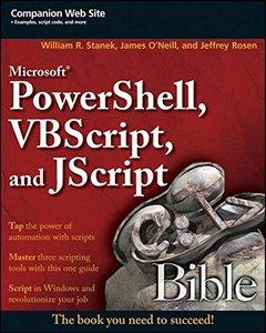 Microsoft PowerShell, VBScript & JScript Bible (Paperback)-cover