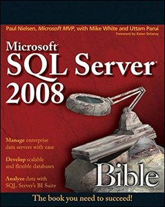 Microsoft SQL Server 2008 Bible (Paperback)-cover