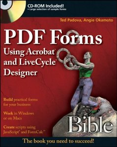 PDF Forms Using Acrobatand LiveCycle Designer Bible-cover