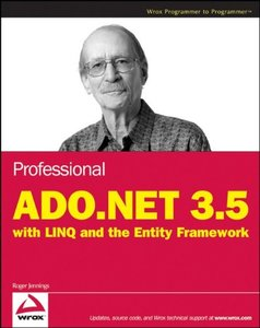 Professional ADO.NET 3.5 with LINQ and the Entity Framework (Paperback)-cover