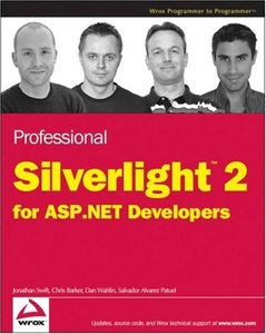 Professional Silverlight 2 for ASP.NET Developers (Paperback)-cover