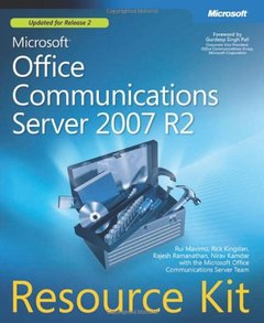 Microsoft Office Communications Server 2007 R2 Resource Kit (Paperback)-cover