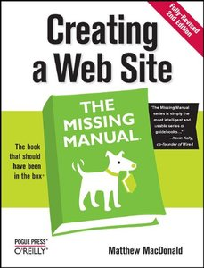 Creating a Web Site: The Missing Manual, 2/e (Paperback)-cover