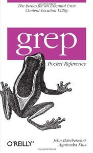 grep Pocket Reference (Paperback)-cover