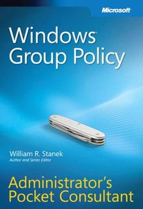 Windows Group Policy Administrator's Pocket Consultant (Paperback)-cover